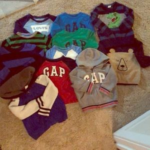 Other - Bulk toddler boy long sleeve / sweaters